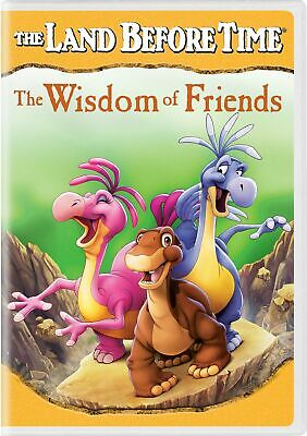 The Land Before Time The Wisdom of Friends DVD Logan Riley Arens NEW