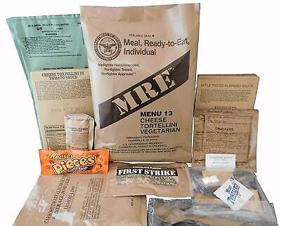 Military MRE Menu 1-24 Inspection 2020!!