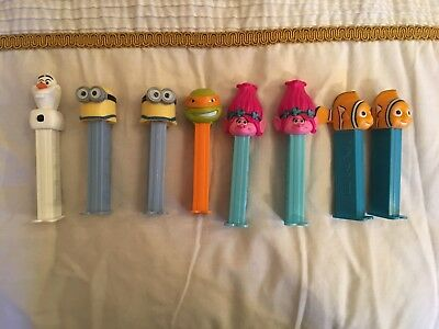 Pez Dispensers X8
