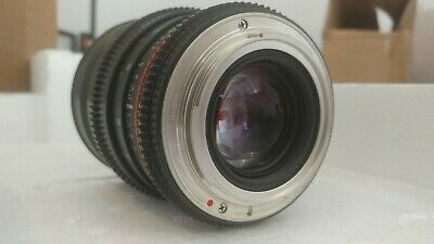 Rokinon 24mm T1.5 ED AS IF UMC wide angle cine full frame lens Canon EF