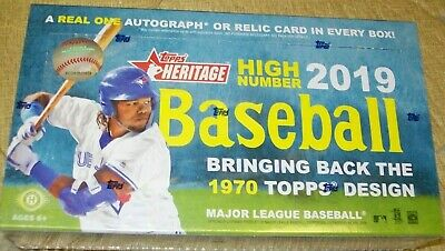 2019 Topps Heritage High Number Baseball Cards..pick From List Free Shipping