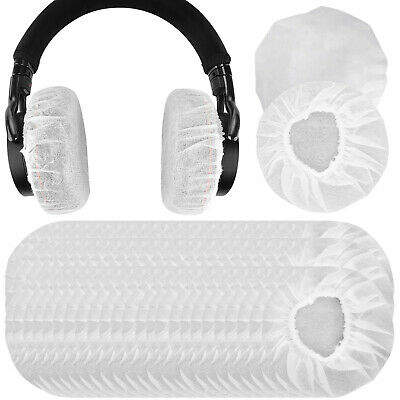 Geekria Stretchable Headphone Covers / Disposable Sanitary Earcup (100 Pairs)