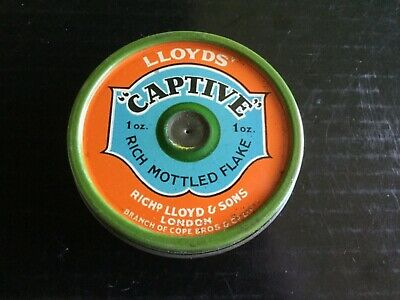 "Lloyd's "" Captive "" Tobacco Tin"