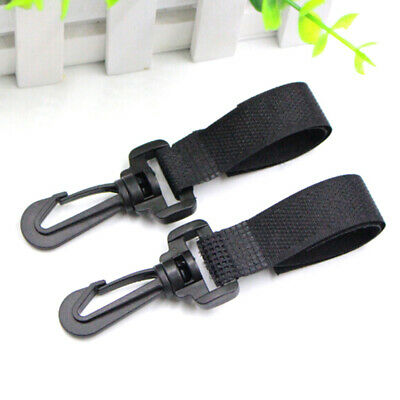 2Pcs/lot universal baby stroller hooks pram pushchair stroller carriage hookKR