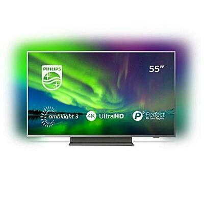 Smart TV Fernseher  Philips 55PUS7504 55 Zoll  4K Ultra HD LED WiFi Ambilight Gr