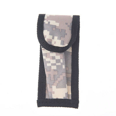 1pc mini small camouflage nylon sheath for folding pocket knife pouch case!x