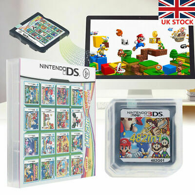 Video Game Card 482 In 1 Cartridge Console Card For NDS NDSL 2DS 3DS 3DSLL NDSI