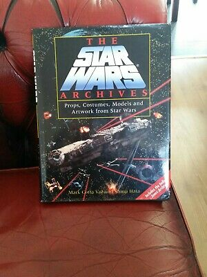 Star Wars Archives Hardback Book & Dustcover - Props, Costumes, Models & Artwork