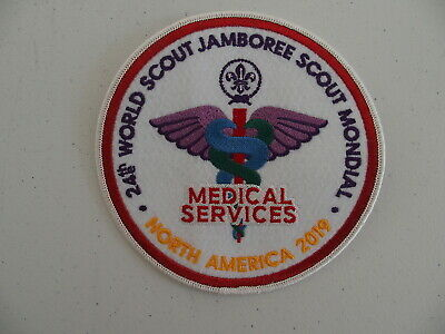 2019 World Jamboree Medical Services Staff Patch