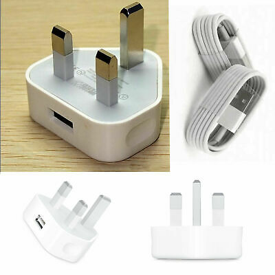 100% Genuine CE Charger Plug And USB Cable Lead For Apple iPhone 8 7 6S X XS XR