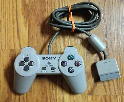 Official Sony Playstation 1 PS1 Controller Genuine OEM SCPH-1080 Gray