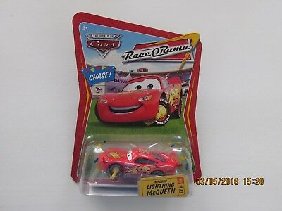 Disney Pixar Cars 2 IMPOUND LIGHTNING MCQUEEN CONFETTI CHASE RACE Hot CB-SS-GN