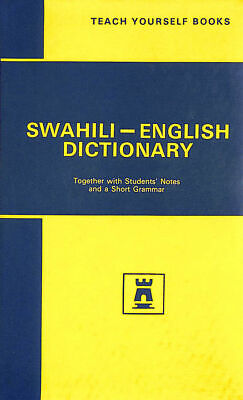 Swahili Dictionary by