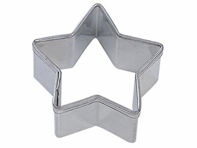 Mini STAR Tin Plated Steel COOKIE CUTTER  (NEW)