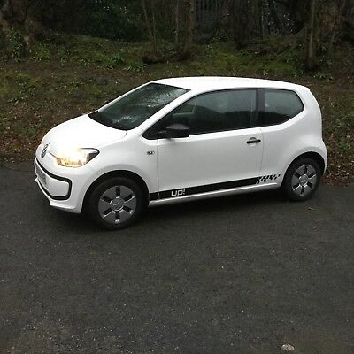 2012 VW UP Take Up! '62 plate 3dr in white full service history ideal first car
