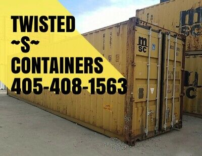 Shipping Containers 40 Ft. HQ WE DELIVER Wind And Water Tight Storage