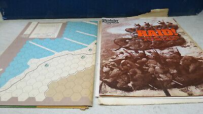 """Strategy & Tactics - RAID1 """"Commando Operations in the 20th Century"""" - UNPUNCHED"""