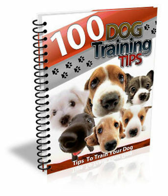 100 Dog Training Tips -Every Dog Owner Should Know E-Book Pdf Free Shipping Mrr