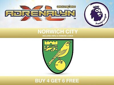 Panini Premier League 2019/20 Adrenalyn XL 19/20 NORWICH CITY