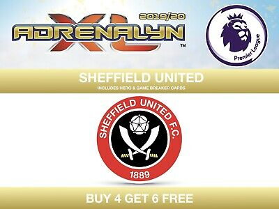 Panini Premier League 2019/20 Adrenalyn XL 19/20 SHEFFIELD UNITED