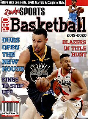 Lindy's Sports Magazine 2019 Pro Basketball Golden State Warriors STEPHEN CURRY