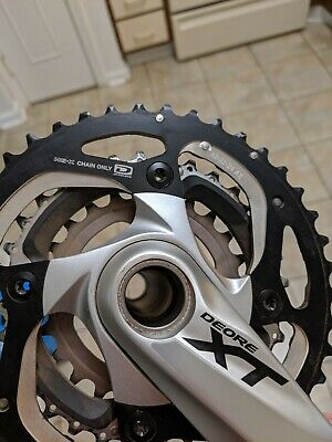 Shimano XT M770 M780 32t 104mm 10-Speed Middle Chainring