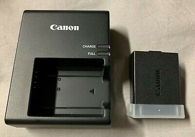 NEW Canon LC-E10 LP-E10 Battery and Charger for EOS Rebel T5 T6 T7 1100D & more