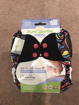 New In Package Bumgenius 4.0 Piccadilly Circus Diaper