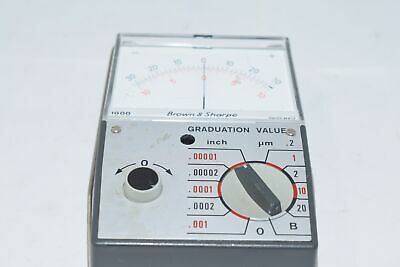 Brown & Sharpe Model No. 599-1000 Inch/Metric Electronic Pocket Amplifier