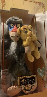 2019 D23 Expo The Lion King 25 Years Anniversary Rafiki and Simba Set. LE 500