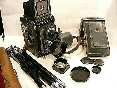 Yashica  D Camera & Case Telephoto Lenses And Accessories