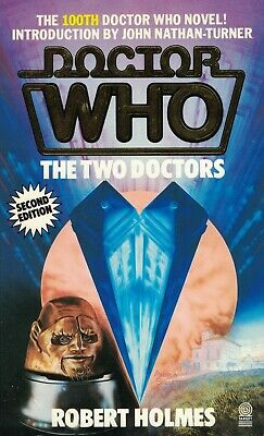 Doctor Who The Two Doctors (Dr Who Target Books Paperback Robert Holmes 1985)