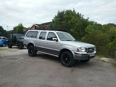 Ford Ranger XLT 4x4 Double Cab Pick Up 2.5 with Full Mot Clean and Tidy PX