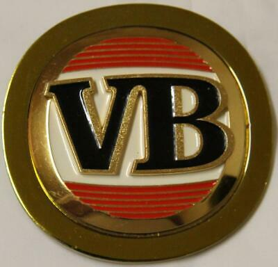 Collectible Vb Victoria Bitter Mid Strength Lager Metal Tap Top Badge  - Exc