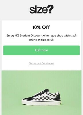 Size? 20% Off Valid Discount Code *Instant Delivery* - Uk Only