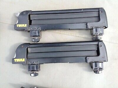 Thule Ski Clamps Rack Attachment Lock