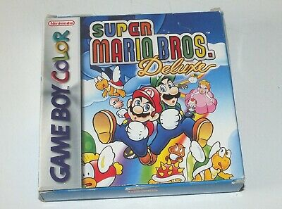 Jeu Super Mario Bros Deluxe sur Nintendo  Gameboy Color  complet