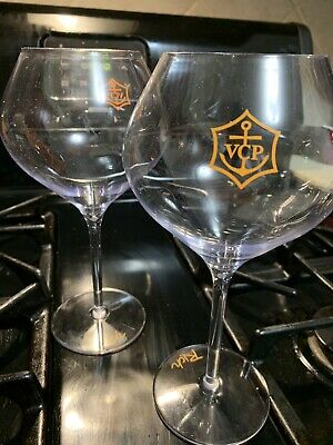 veuve clicquot glasses - polycarbon 2 GLASSES USED ONCE
