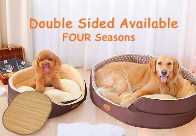 Pet Dog Bed Orthopedic Large Beds Extra House Nest Basket Kennel For Cat Puppy