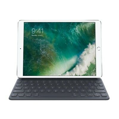 "New Apple Smart Keyboard + Cover For 10.5"" Ipad Pro And Ipad Air Black Mptl2Lla"