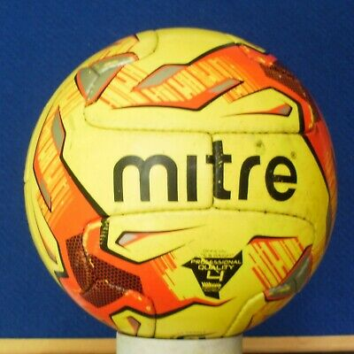 Mitre  Max Fluo  V12S Pro  Size 4 Match Football