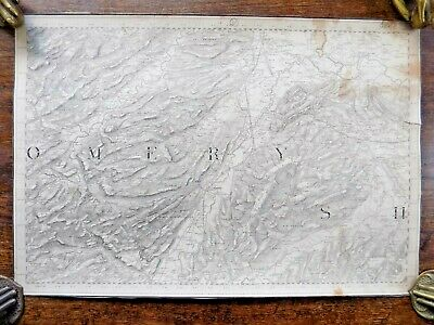 First Series? Ordnance Survey Wales Welshpool England Border OS Antique Map