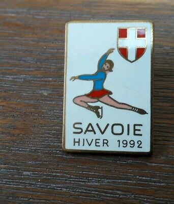 Pins Patinage Winter Olympic Games Jo Albertville Savoie 1992