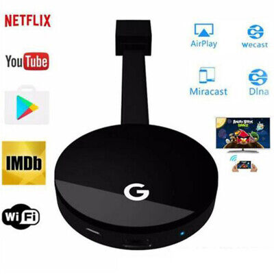Chromecast 4rd Gen HDMI Digital Video 1080P Media TV Streamer For Google W3G5I