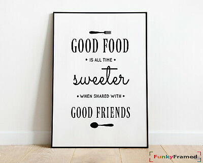 Kitchen Prints   Wall Art Print   Dining Room Poster   Home Decor Word Art Quote
