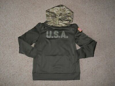 more photos c4749 b5988 YOUTH NIKE SALUTE To Service NFL Chicago Bears Hoodie Green ...