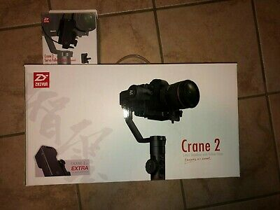 Zhiyun Crane 2 With Servo Follow Focus 3-axis Handheld Gimbal Stabilizer