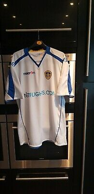 Retro 2008-2009 Leeds United Home Shirt - XL, Macron