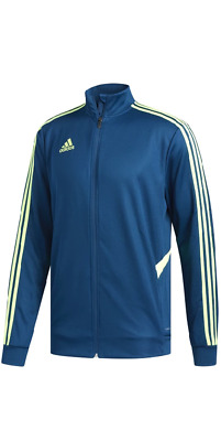 Adidas Legend Marine/Hi-Res Yellow Tiro 19 Training Track Jacket