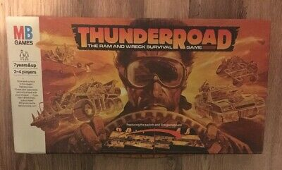 THUNDER ROAD By MB GAMES Spare pieces Replacement Game Parts